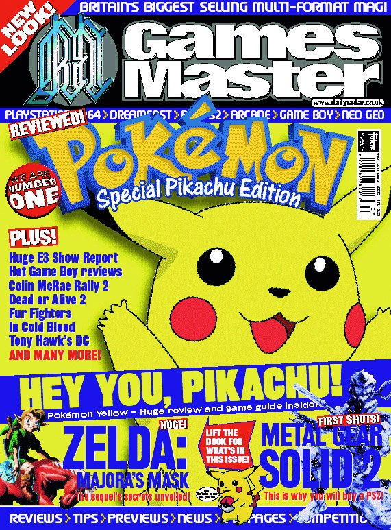 GamesMaster Issue 096 (July 2000)