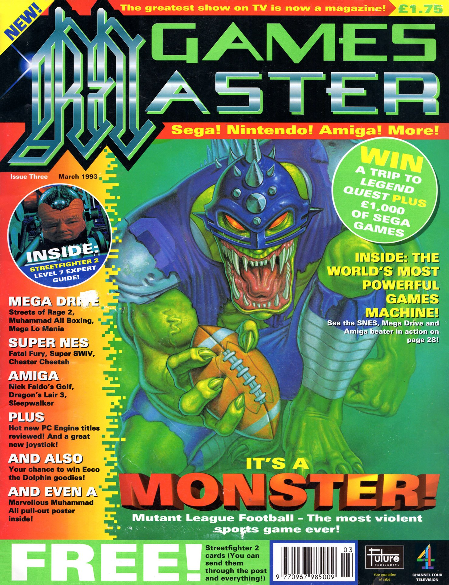 GamesMaster Issue 003 (March 1993)