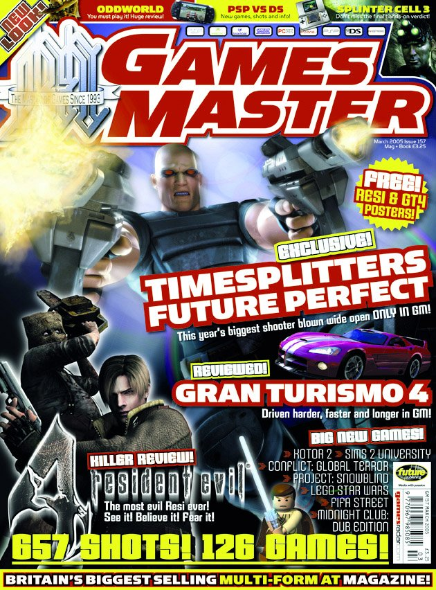 GamesMaster Issue 157 (March 2005)