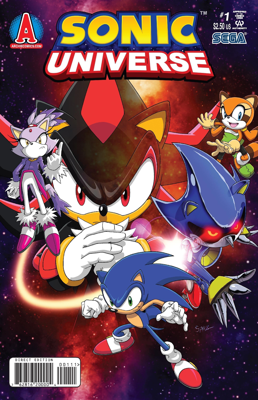 Sonic Universe 001 (April 2009)