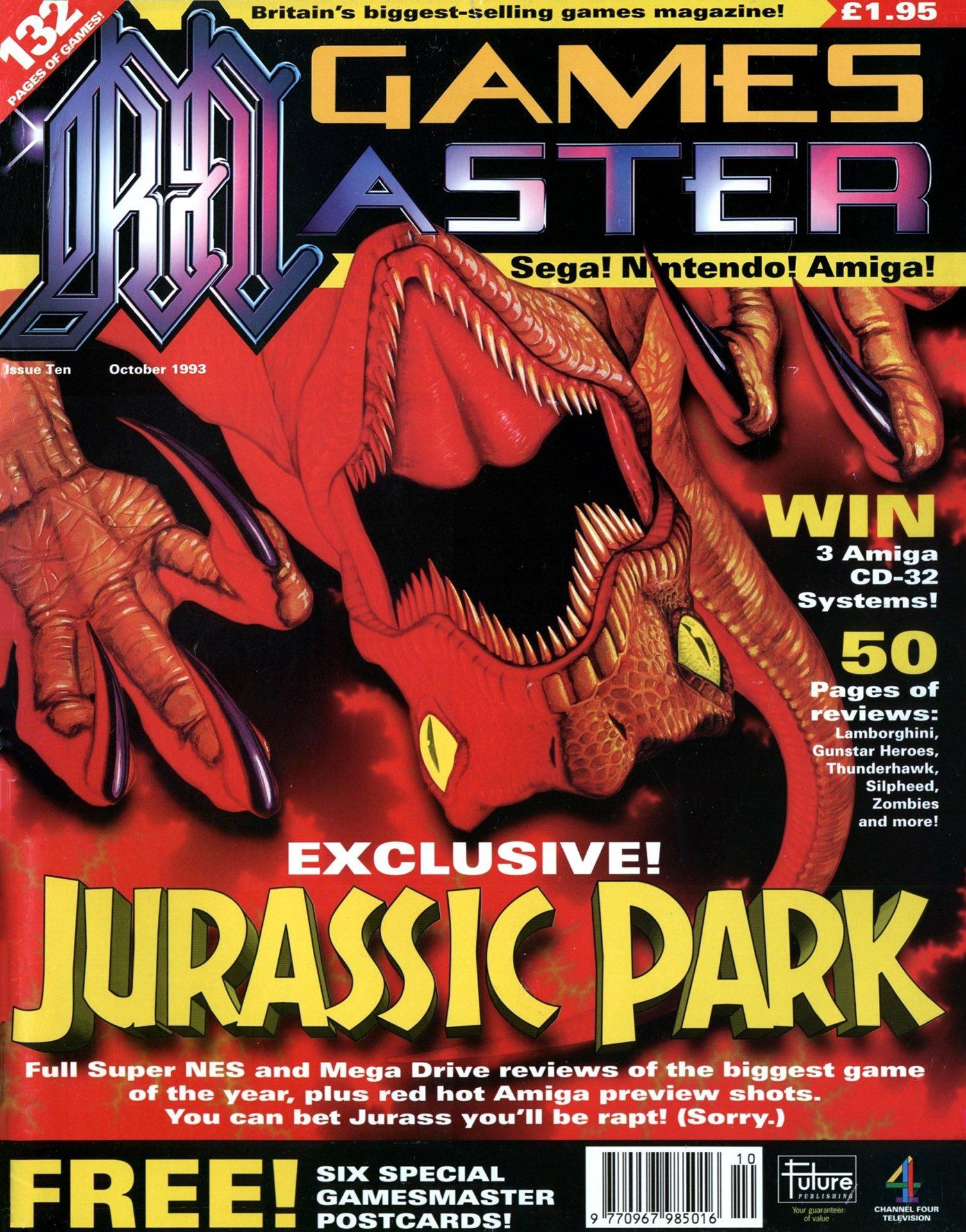 GamesMaster Issue 010 (October 1993)
