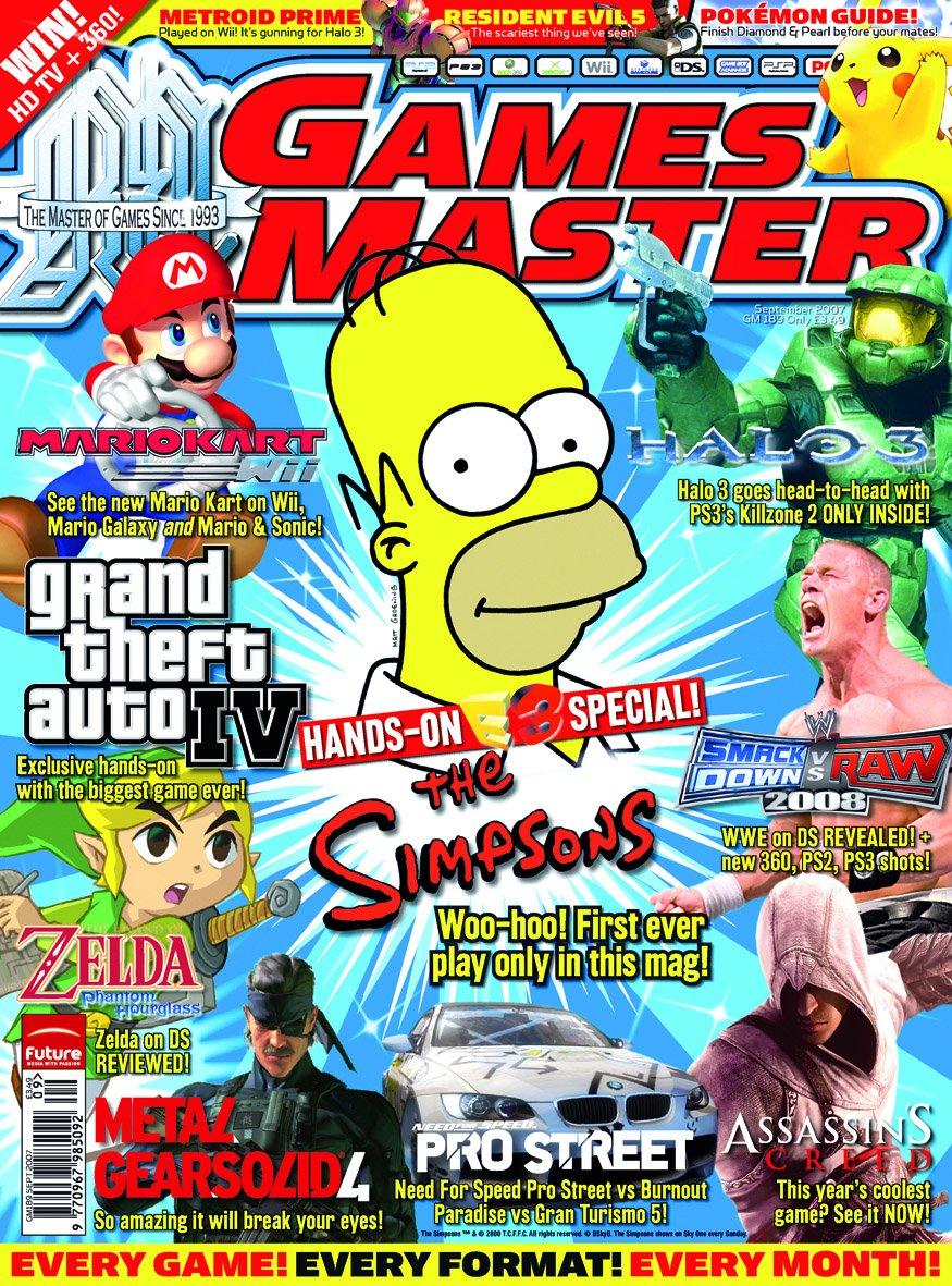 GamesMaster Issue 189 (September 2007)