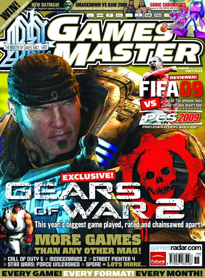 GamesMaster Issue 204 (November 2008)