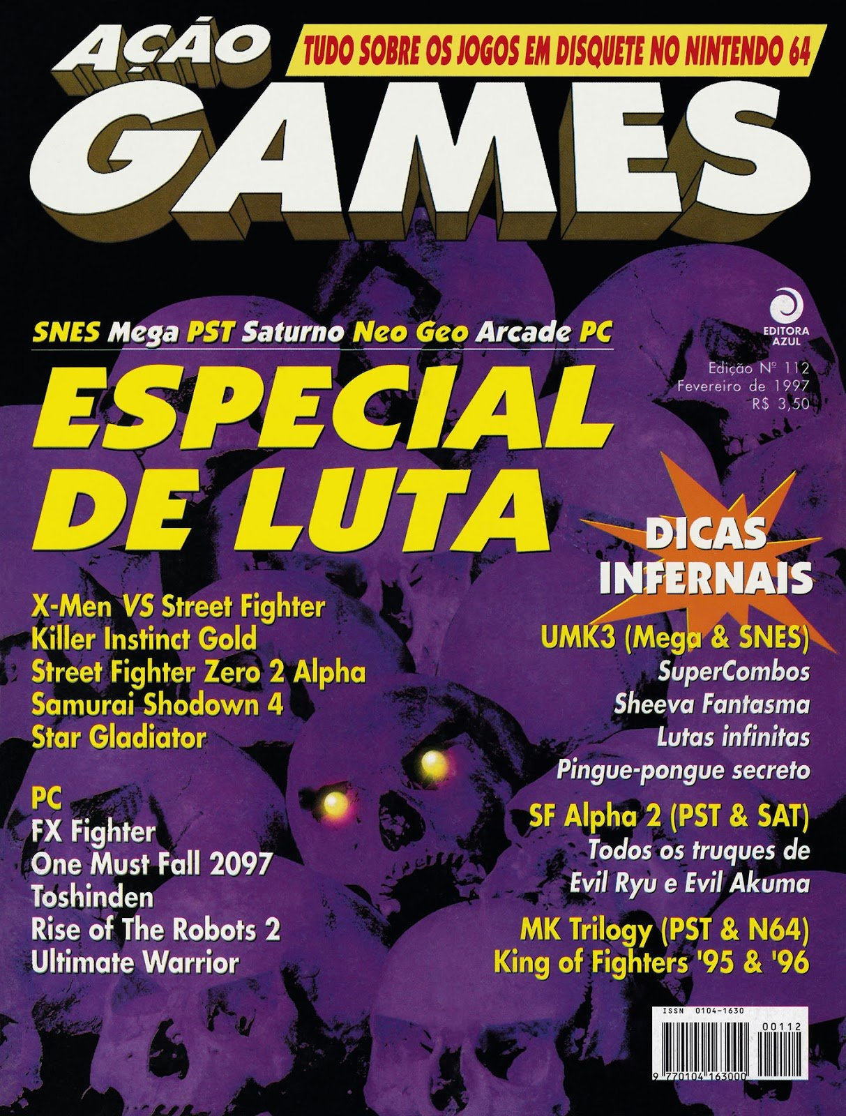 Acao Games Issue 112 (February 1997)