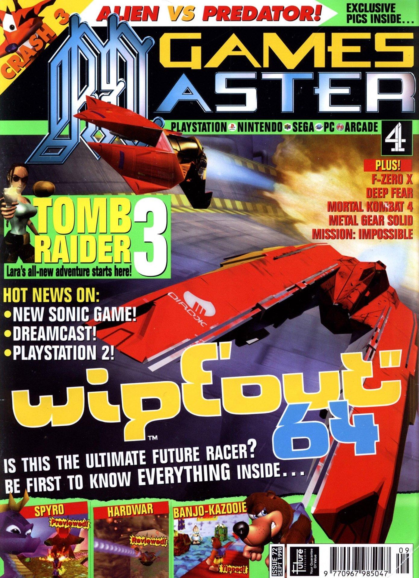 GamesMaster Issue 072 (September 1998)