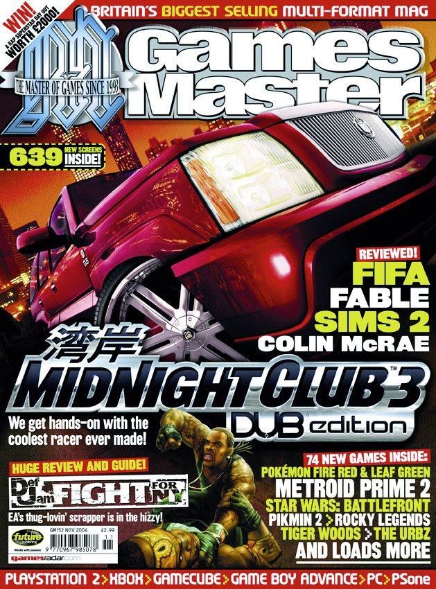 GamesMaster Issue 152 (November 2004)