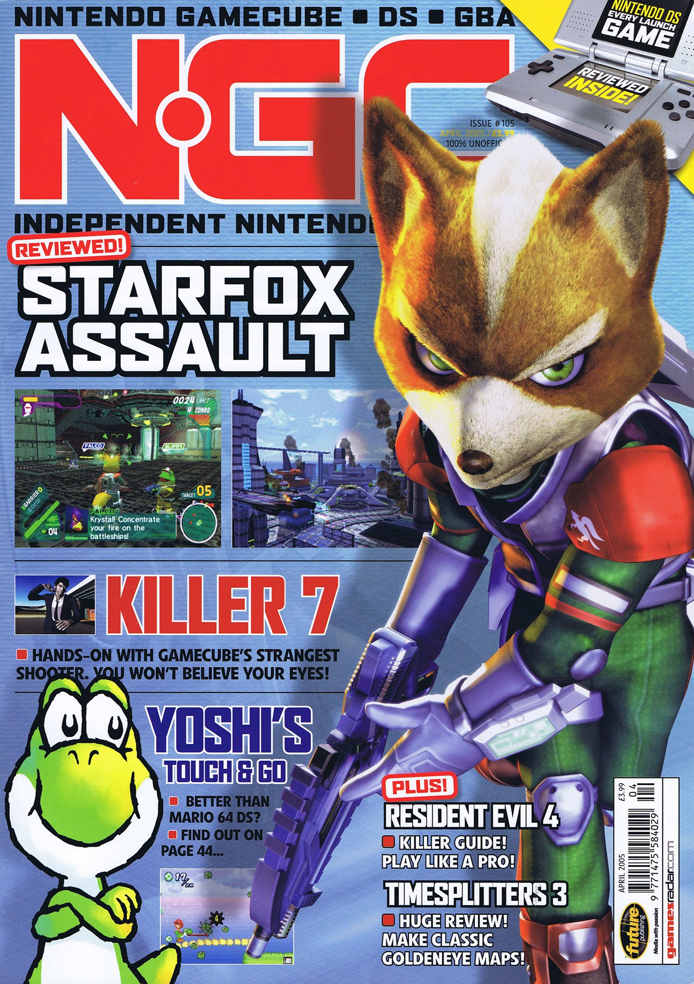 NGC Issue 105 (April 2005)