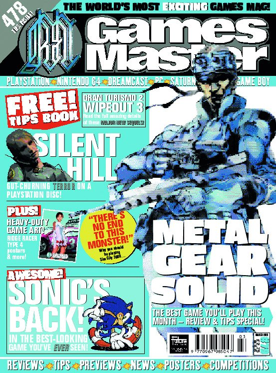 GamesMaster Issue 079 (March 1999)