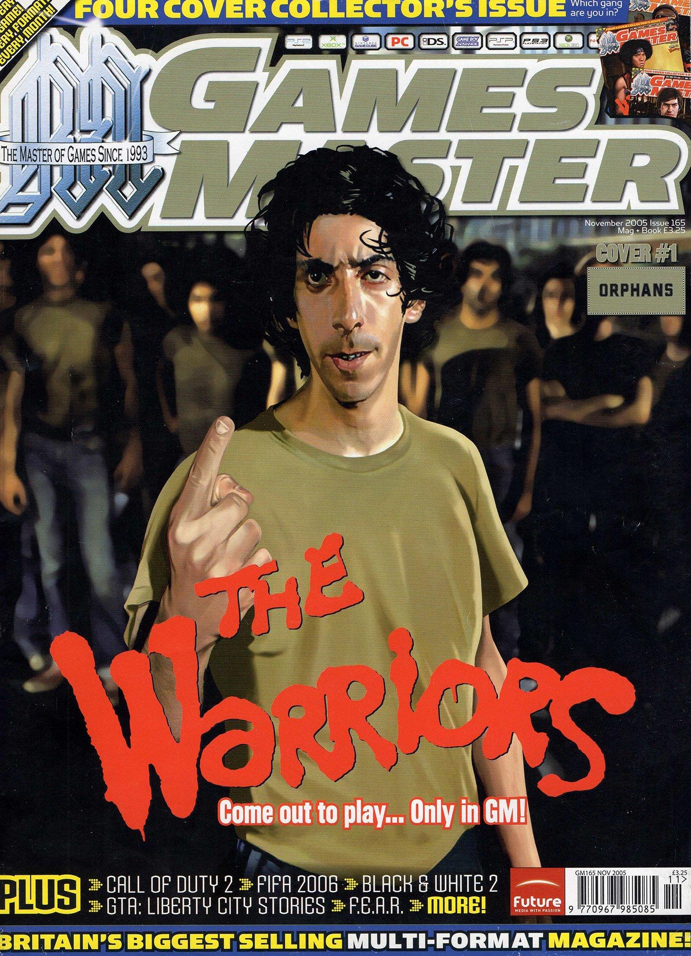 GamesMaster Issue 165 (November 2005) (cover 1)