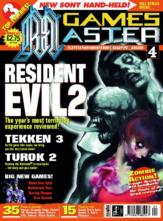 GamesMaster Issue 067 (April 1998)
