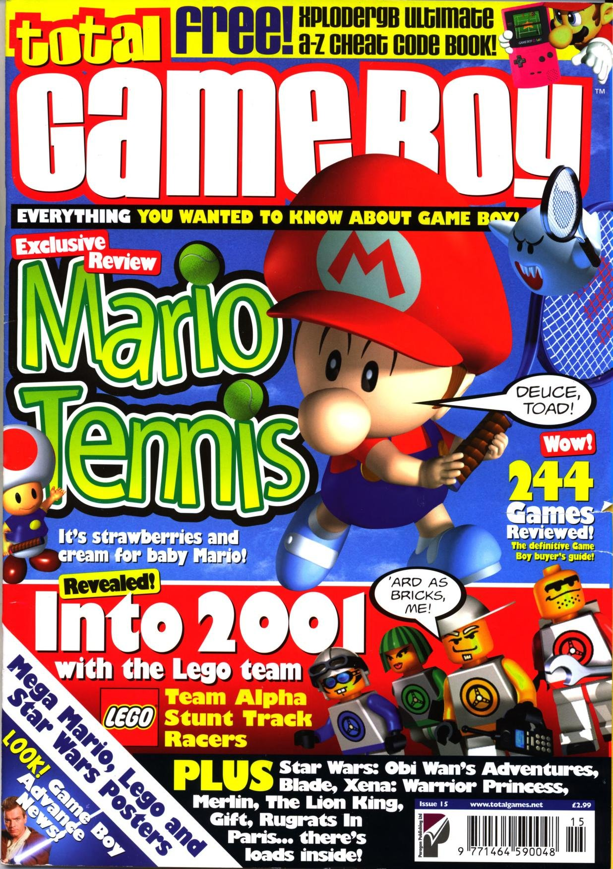 Total Game Boy Issue 15 (March 2001)
