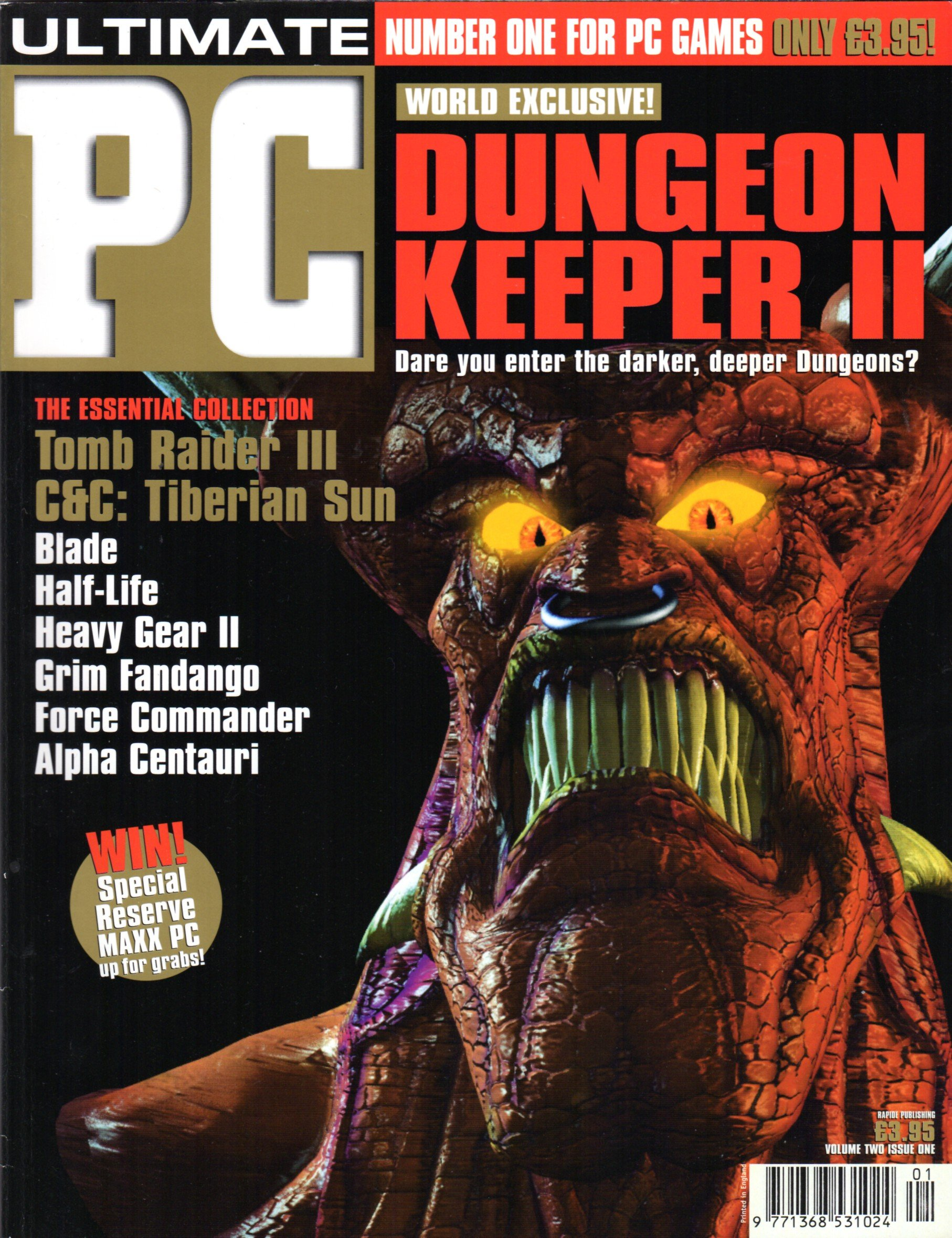Ultimate PC Volume 2 Issue 01 (September 1998)