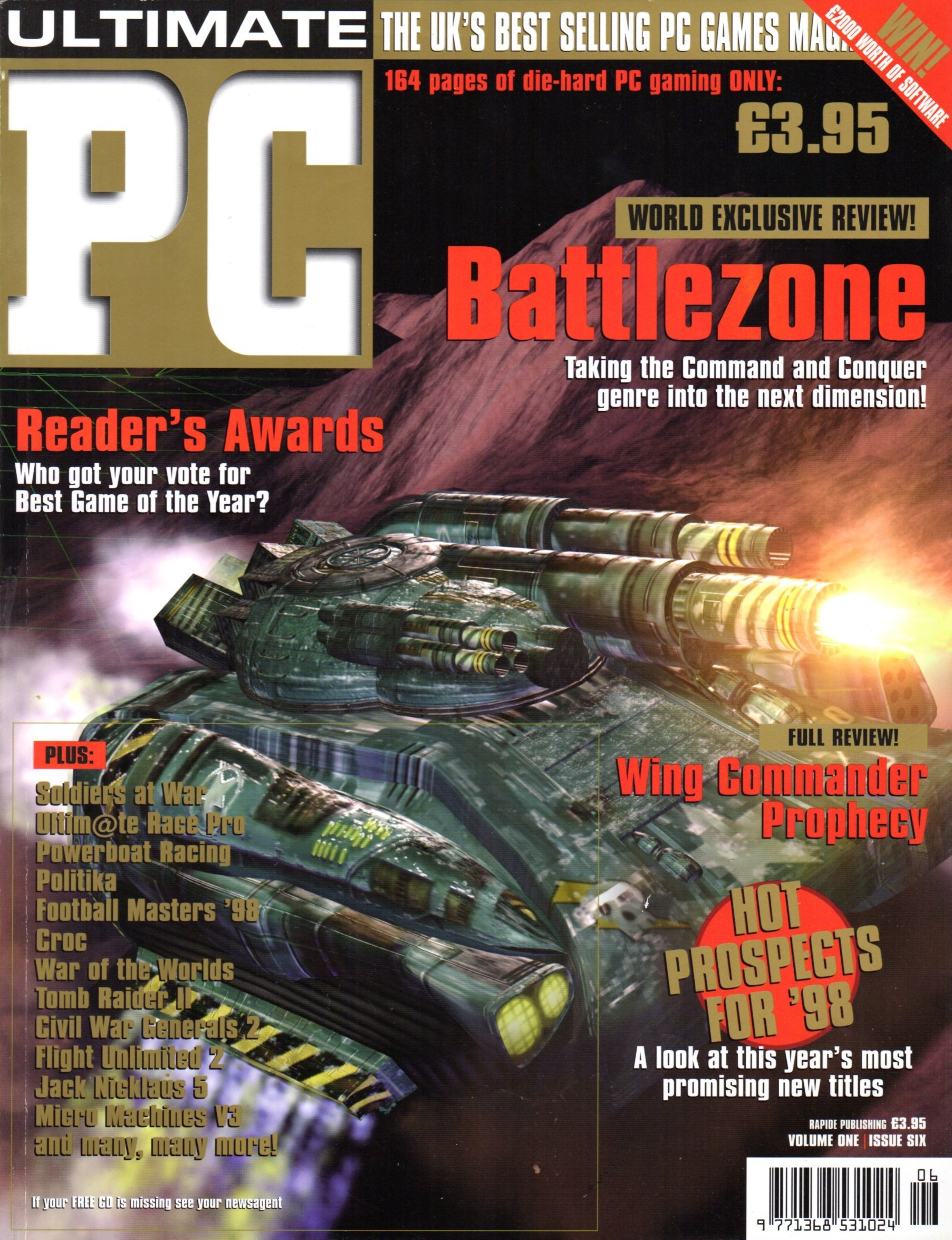 Ultimate PC Volume 1 Issue 06 (February 1998)