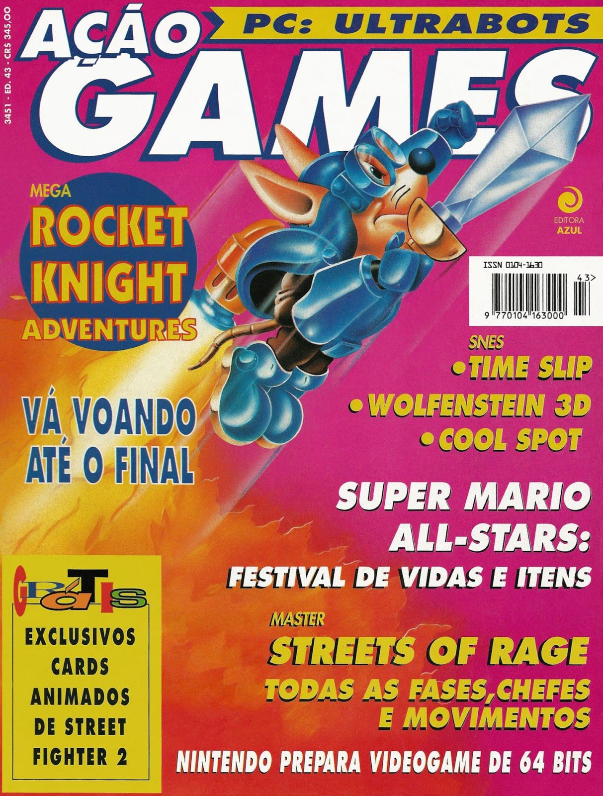 Acao Games Issue 043 (September 1993)