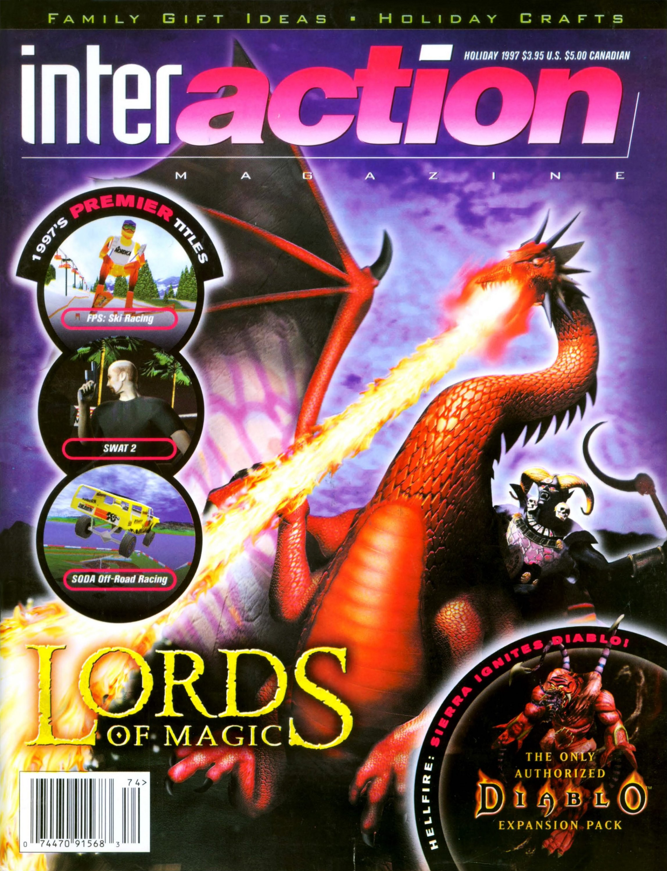 InterAction Issue 33 (Volume 10 Number 4) Holiday 1997