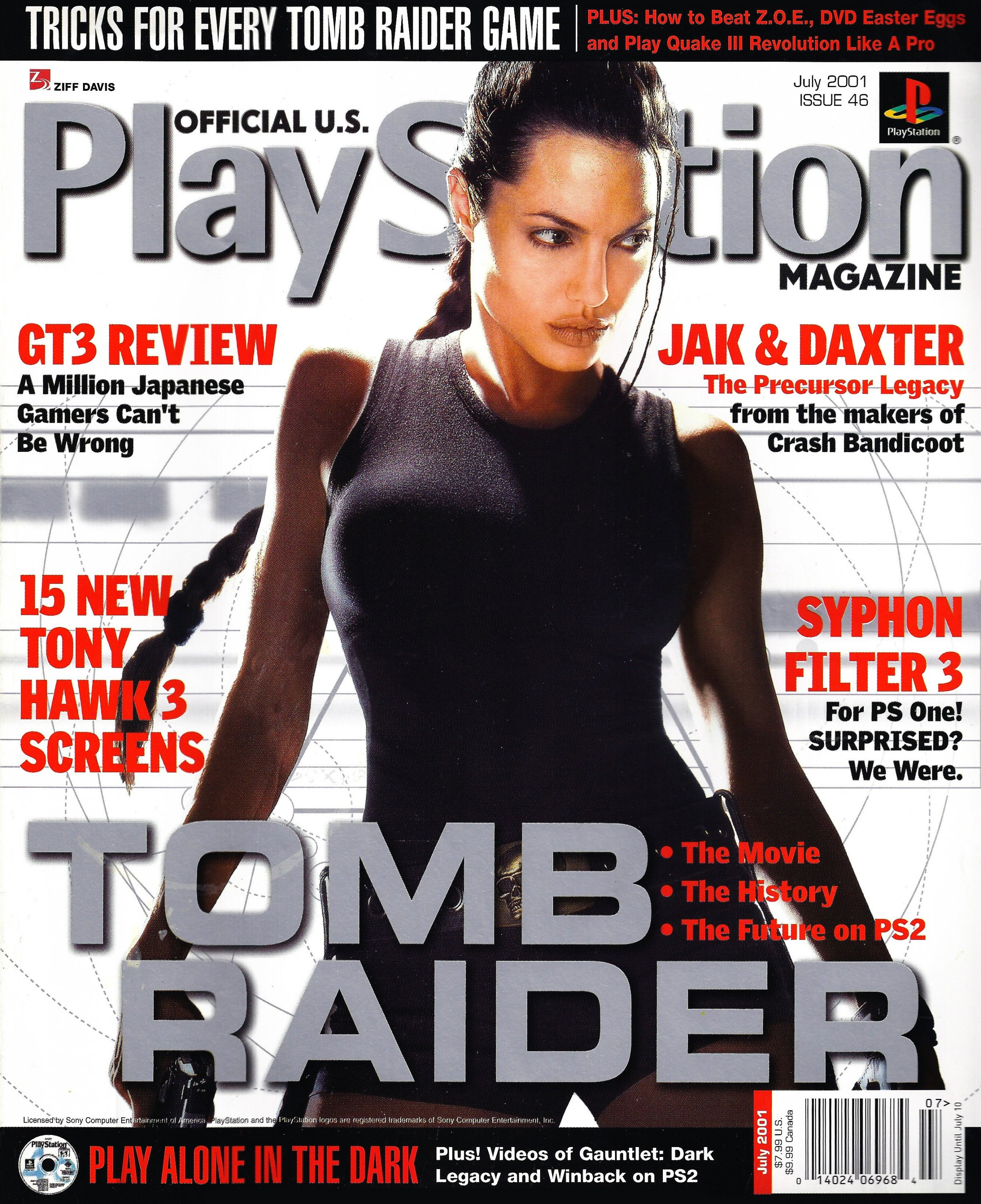 Official U.S. PlayStation Magazine Issue 046 (July 2001)