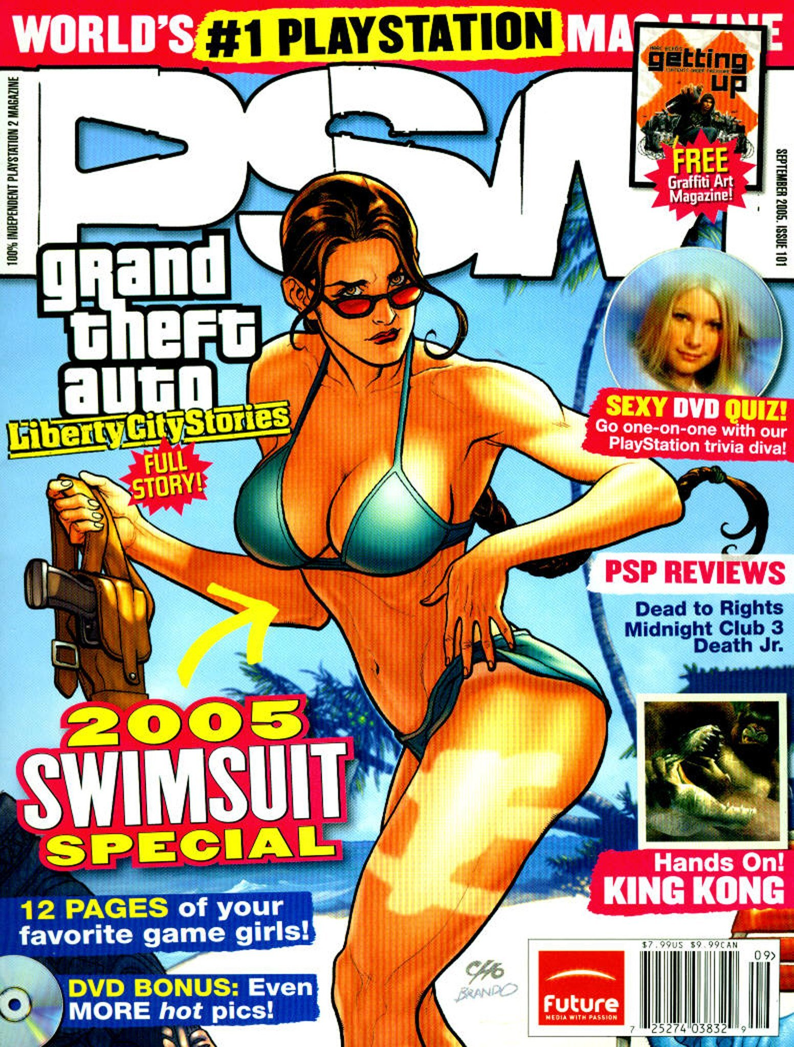 PSM issue 101 sept 2005 swimsuit cover