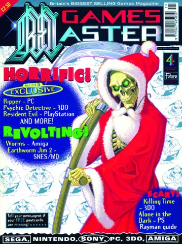 GamesMaster Issue 037 (Christmas 1995)
