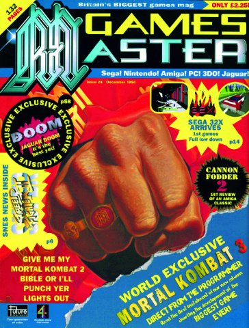 GamesMaster Issue 024 (December 1994)