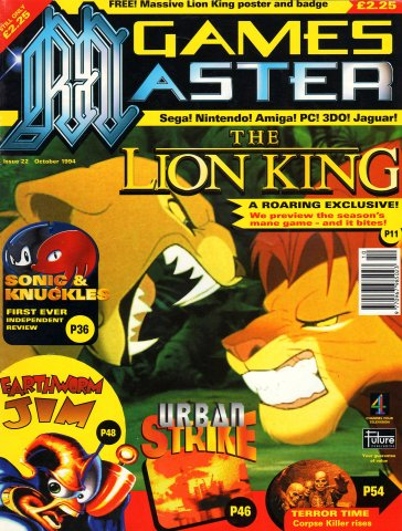 GamesMaster Issue 022 (October 1994)
