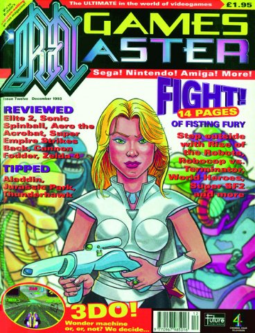 GamesMaster Issue 012 (December 1993)