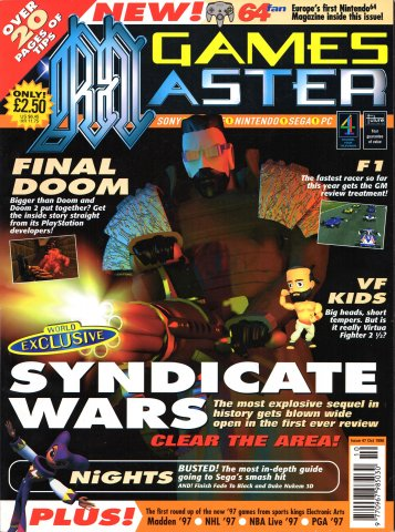 GamesMaster Issue 047 (October 1996)