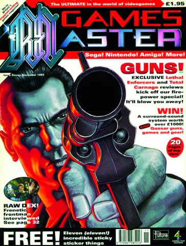 GamesMaster Issue 011 (November 1993)