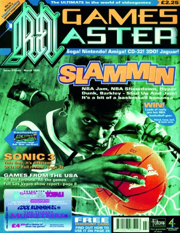 GamesMaster Issue 015 (March 1994)
