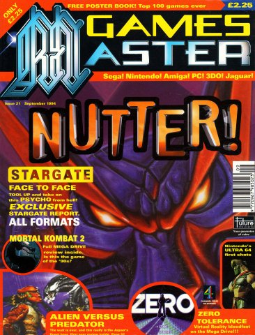 GamesMaster Issue 021 (September 1994)