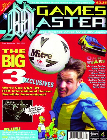 GamesMaster Issue 017 (May 1994)