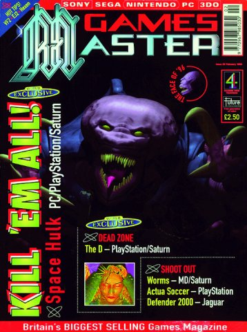 GamesMaster Issue 039 (February 1996)