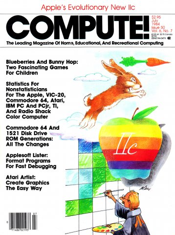 Compute! Issue 050 Vol. 6 No. 7 (July 1984)