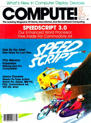 Compute! Issue 058 Vol. 7 No.3 (March 1985)