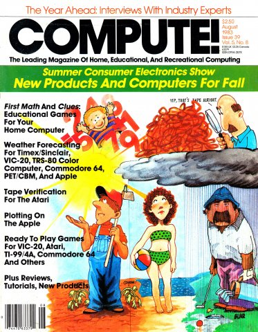 Compute! Issue 039 Vol.5 No. 8 August 1983