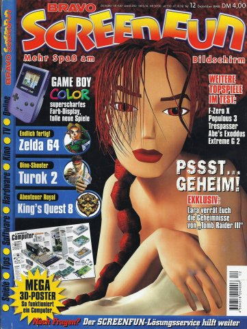 Bravo ScreenFun issue 1 (December 1998)