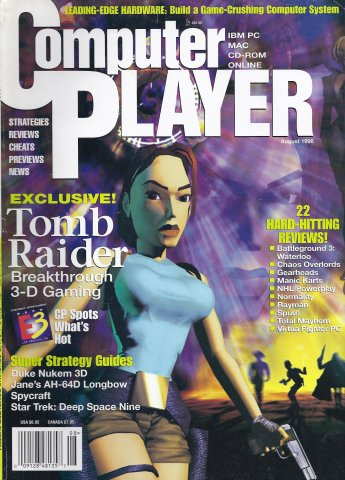 Computer Player Vol.3 Issue 03 (August 1996)