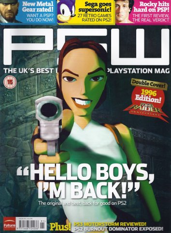PSW Issue 91 (January 2007) Cover A