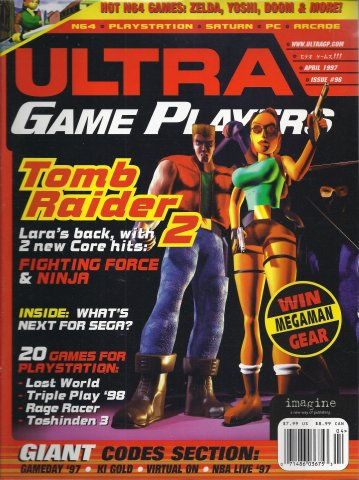 Ultra Game Players Issue 096 (April 1997)