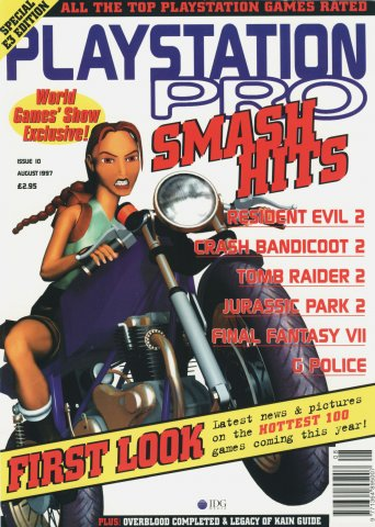 PlayStation Pro Issue 10 (August 1997)