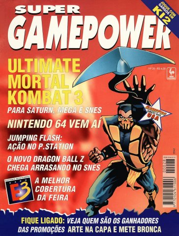 SuperGamePower Issue 028 (July 1996)