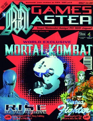 GamesMaster Issue 025 (January 1995)