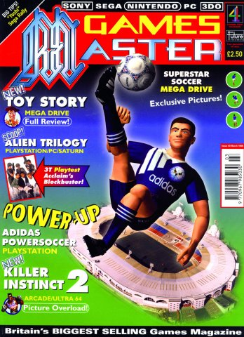 GamesMaster Issue 040 (March 1996)