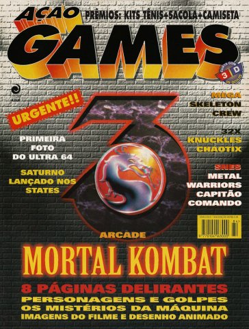Acao Games Issue 084 (June 1995)