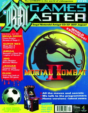 GamesMaster Issue 016 (April 1994)