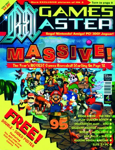 GamesMaster Issue 026 (February 1995)