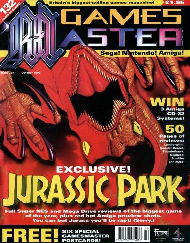 GamesMaster Issue 010 (October 1993)