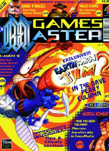 GamesMaster Issue 028 (April 1995)