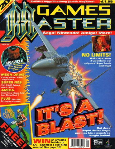 GamesMaster Issue 006 (June 1993)