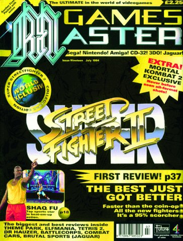 GamesMaster Issue 019 (July 1994)