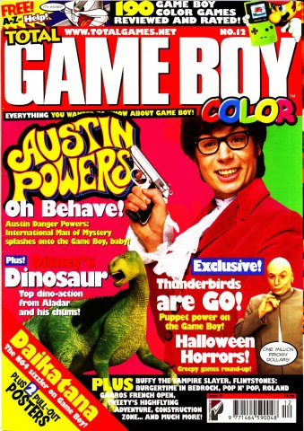 Total Game Boy Issue 12 (October 2000)